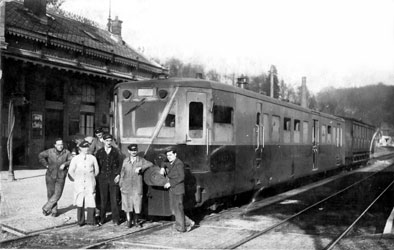 Dernier train Pierrefonds 1940
