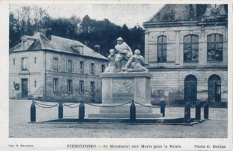 Monument aux Morts Pierrefonds