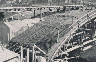 Construction du Pont