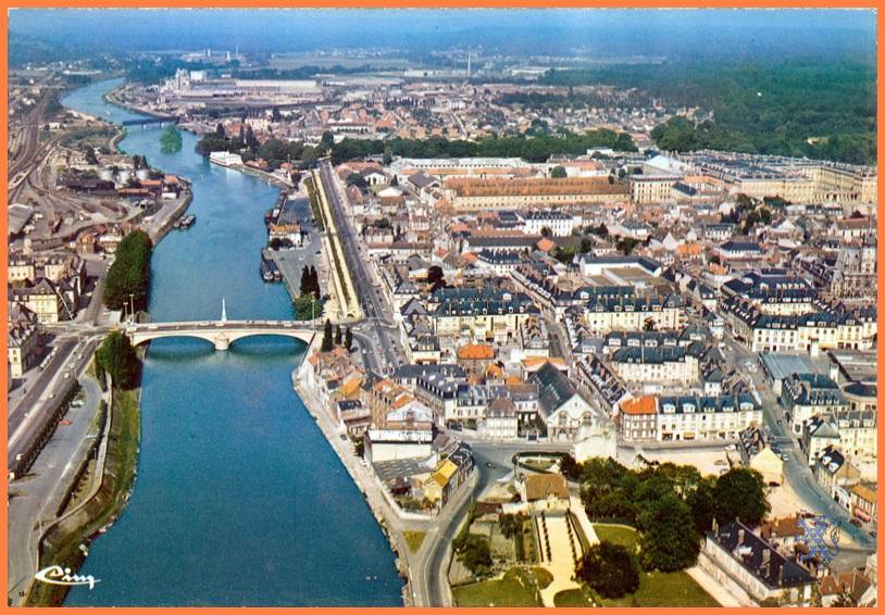 La reconstruction du pont de compiegne en 1949 - Piscine mercieres compiegne ...