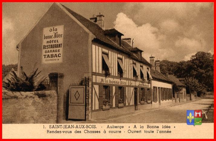 SaintJean aux Bois un village dans la foret