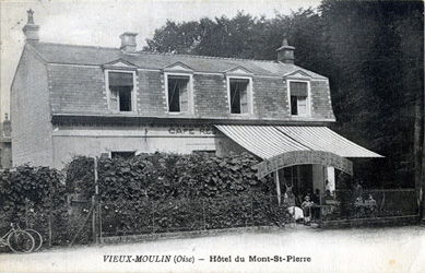 Cafe Restaurant du Mont Saint-Pierre Vieux-Moulin Oise